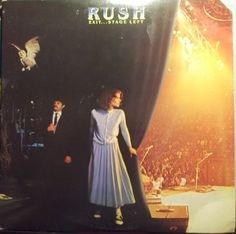 Rush, Exit...Stage Left, Vintage Record Album, Vinyl LP, Classic Rock Music, Canadian Rock Band, Classic 80's Rock, Progressive Rock by VintageCoolRecords on Etsy