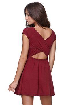 LA Hearts Crossback Dress #pacsun