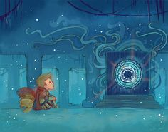 The Boy Who Waited, a 5x7 art print for $7.00; by theGorgonist @Etsy // doctor who; rory williams
