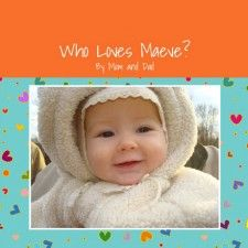 Another personalized book you can make with family photos.