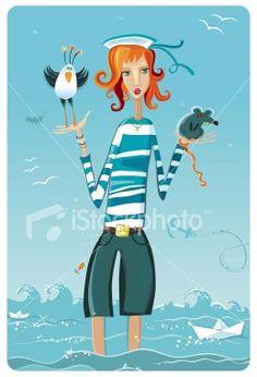 26 Best Sailor images | Sailor, Boat illustration, Sailor