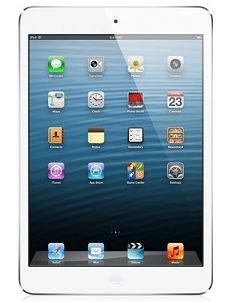 Apple iPad mini with Wi-Fi + Cellular for AT&T 16GB - White & Silver