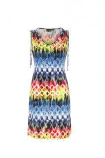 Indigo Sleeveless Dress #summer #summerdress #tribalsportswear #maxidress #dress #fashion #style #summerstyle