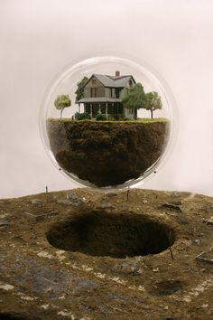 bubble, house