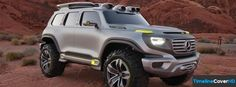Mercedes Benz Ener G Force Concept Timeline Cover 850x315 Facebook Covers - Timeline Cover HD