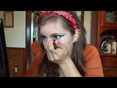 Fox Makeup Tutorial (Halloween) - YouTube