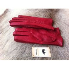 Women's Peccary Leather Gloves