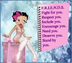 Image result for friends of betty boop pictures