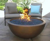 The Philharmony Square Fire Pit And Water Fountain With