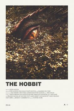 The Hobbit alternative movie poster ...Smaug in the gold