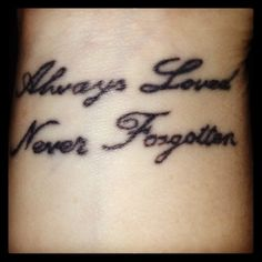 My tattoo in memory of my beautiful baby who grew their wings far too soon