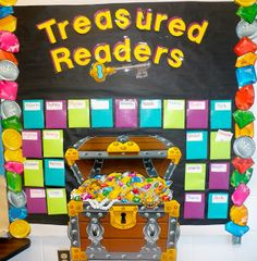 Treasured Readers - use incentive pads, every 100 minutes read, get a gem sticker. Full ticket = grand prize