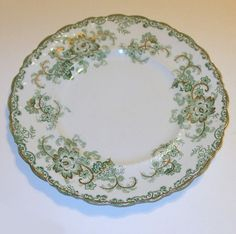 """Here is another J & G Meakin 10"""" Dinner Plate in the Long Branch Pattern Circa 1890"""