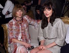 Pin for Later: Everything You Need to Know From Last Night's Chanel Show All of Fashion's Biggest Names Were There, Like Anna Wintour