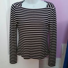 Tory Burch sweater In great condition...Size Xs can fit S too..color is dark blue.. Tory Burch Sweaters