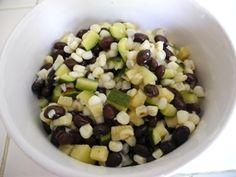 Zucchini Black Bean Salad - Unicornbeauty - Plan to Eat