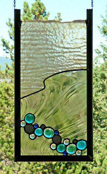 Glass art Drawing - Tiffany Glass art Videos - Sea Glass art Tutorial - - Wine Glass art How To Make Stained Glass Door, Stained Glass Designs, Stained Glass Panels, Stained Glass Projects, Stained Glass Patterns, Broken Glass Art, Sea Glass Art, Mosaic Glass, Water Glass