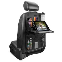 Volkswagen Bus Discover Back Seat Organizer with Tray Black - Turtle Wax Car Seat Organizer, Jeep Wrangler Accessories, Offroad Accessories, Suv Camping, Combi Vw, Car Essentials, Cute Car Accessories, Camper Renovation, Car Gadgets