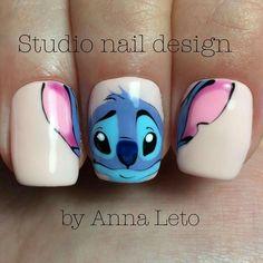 Animal Nail Designs, Colorful Nail Designs, Nail Designs Spring, Nail Art Designs, Disney Acrylic Nails, Summer Acrylic Nails, Best Acrylic Nails, Cute Nail Art, Cute Nails