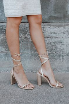 Cute Pumps, Cute Sandals, Gold Heels, Lace Up Heels, Nude Heels, Fancy Shoes, Me Too Shoes, Toe Band, Next Shoes