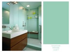 Grayed Jade Pantone of 2013: Love this color for walls!