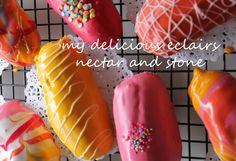nectar and stone - How to make the perfect eclairs
