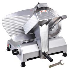 Blade Electric Meat Slicer Deli Food Cutter Commercial Home Kitchen Flat Top Grill, Food Cutter, Meat Slicers, Steel Cutter, Commercial Electric, Deli Food, Electric Foods, Best Meat, Butcher Shop
