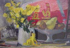 Panagiotis Tetsis Παναγιώτης Τέτσης Greece Painting, Open Gallery, 10 Picture, Art Boards, Painters, Still Life, Glass Art, Sculptures, Digital Art
