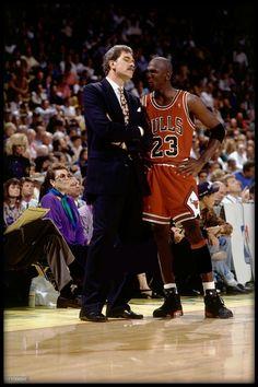 My #Favorite Pic of #MJ #Jordans #AirJordan #AirJordans & #PhilJackson Ever!