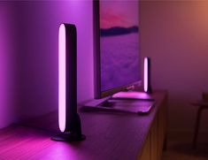 Philips Hue Play Wall Entertainment Light Create a vibrant ambiance with the Hue Play light bar. Smart Lighting System, Bar Lighting, Lighting Ideas, Phillips Hue Lighting, Smart Lights, Philips Hue, Led Light Bars, White Light, Color