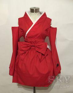 Inuyasha Kimono Dress by skycreation on Etsy