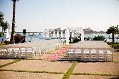 The Knot's Best Wedding Venues in San Diego: Paradise Point Florida Wedding Venues, Best Wedding Venues, Paradise Point San Diego, Florida Honeymoon, Honeymoon Destinations, Yellow Wedding Flowers, San Diego Beach, San Diego Wedding, Dream Wedding