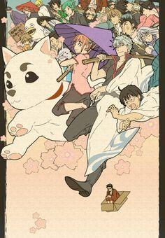 Pixiv Id Gintama crew Fanart, Anime Manga, Anime Art, Otaku, Gintama Wallpaper, Okikagu, Another Anime, I Love Anime, Studio Ghibli