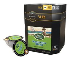 Green Mountain Coffee Nantucket Blend Vue Packs for Keurig Vue Brewers 16 Count *** Continue to the product at the image link.