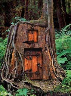 Fabulous house design inspired from fairy tales.