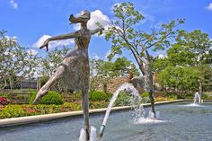 ballet fountain
