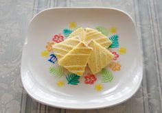 消しゴムはんこで簡単お皿のデコレーション!