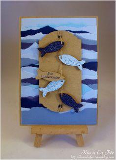 Carte mer et poissons bleus : http://kinoulafee.canalblog.com/archives/2015/08/15/32331068.html