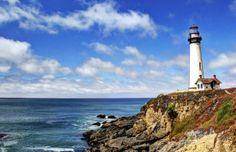 Road trip California - San Francisco-San Diego, Pacific Coast Highway (Pigeon Point)