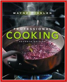 $3.50 - This is the best-selling undergraduate food preparation textbook in the marketplace. It has a long standing reputation for being comprehensive, yet easy for students to understand and follow. Wayne Gisslen's reputation for being able to simply, yet comprehensively, communicate information to beginning chefs is unsurpassed.