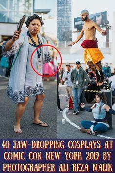#Jaw-Dropping #Cosplays #Comic #Con #New York #Photographer #Ali #Reza #Malik