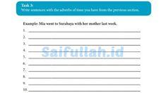 Jawaban Soal Bahasa Inggris Chapter 13 Task 3 Hal 178 SMA Kelas 10