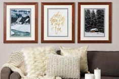Make a Hygge impression! Add warmth and comfort with one of the latest decor trends. Design your own artwork with the help of our custom frame specialists at JOANN.