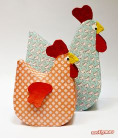 Pinterest Paper Crafts | My Papier Mache Hen Pattern is available on the main menu Pattern Page ...