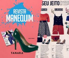 Enquanto isso na @revistamanequim.... Lindo scarpin Tanara! #clipping #tanaranamídia #shoesfirst #shoesshoesshoes