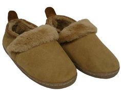 Amerileather Women's Double Faced Sheepskin Outdoor Travel Slippers - Brown - Size 6 ** Check out the image by visiting the link.