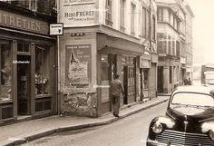 Rouen Vers 1955 Rue du vieux palais