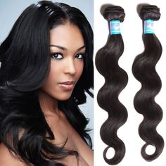 16'' Peruvian Body Wave Virgin Hair Weaves Bundle Wavy Human Hair Extension 300g #Dsoar #WaveBundle