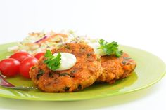 Quick & Easy Low-Carb Japanese Wasabi Salmon Cakes #Recipe