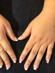 Free Handed OPI Gel French Manicure